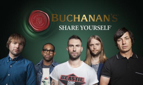 Buchanan's 'Tiempo Para Compartir'